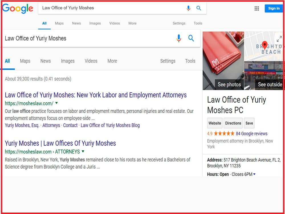 Optimize for Local Searcheslaw firm seo