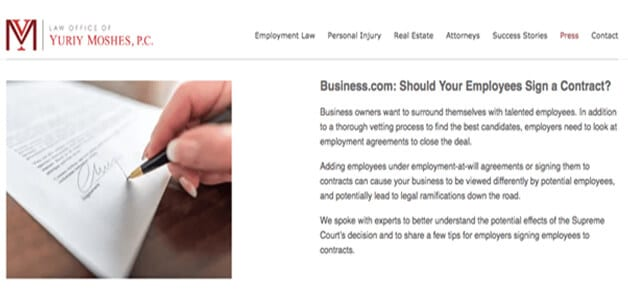 Top Law Firm Websites Maintain Their Blogs best law firm websites