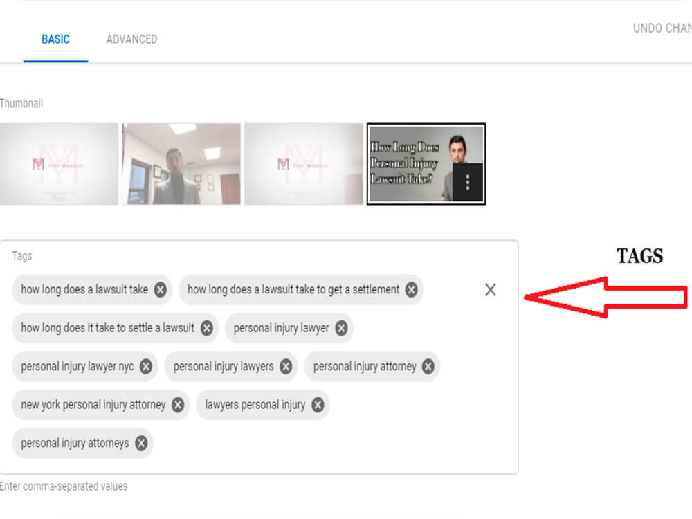 What Video Tags Should I Use? social media for law firms